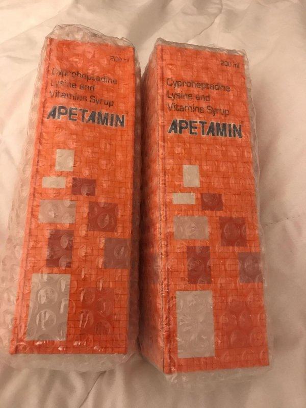 Buy Apetamin syrup 200ml