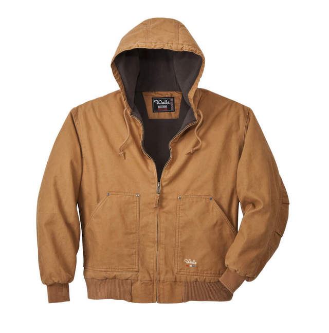 Buy Mid Weight Insulated Hooded Jacket