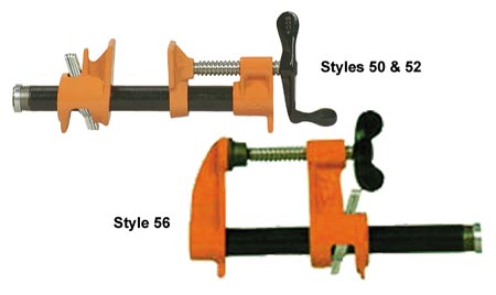 """Buy Pony Clamp Fixtures for 1/2"""" and 3/4"""" Pipe"""