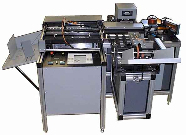 """Buy MODEL AMT - Automatic Tab Laminate and Die Cut Machine - Sizes 6"""" x 7"""" to A4"""