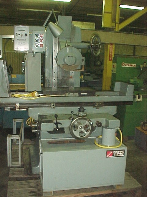 Buy Used Gallmeyer&Livingston Reciprocating Surface Grinder