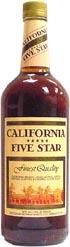 Buy California Five Star Brandy