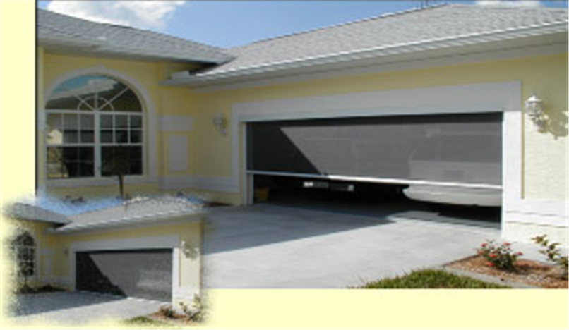 Buy Electric Roll Up Garage Screen