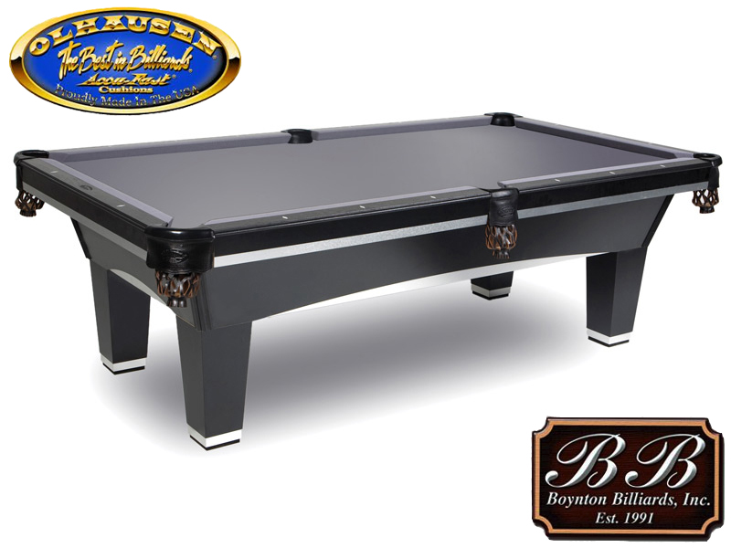 Olhausen Sheraton With Aluminum Pool Table ...