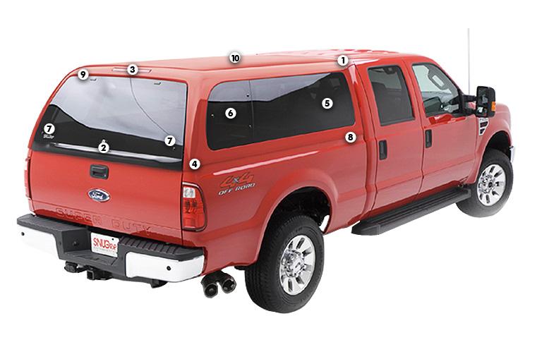 Buy SNUGTOP Super Sport Truck Caps