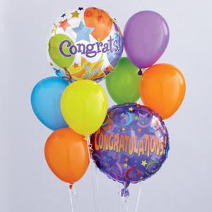 Buy Congratulations Balloon Bouquet