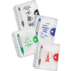 Buy Notebook with Plastic Frosted Cover