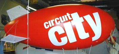 Buy Giant Blimp Shaped Inflatables