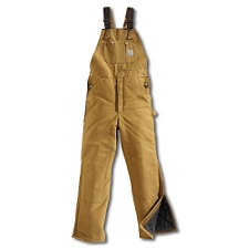 Buy Carhartt Arctic Bib Overall / Quilt Lined