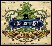 Buy Ridge Distillery Extrait D Absinthe Vert