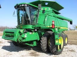 Buy JOHN DEERE 9660 STS 2 WD Combine 2005