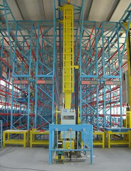 Buy Automated storage and retrieval systems from aloi materials handling