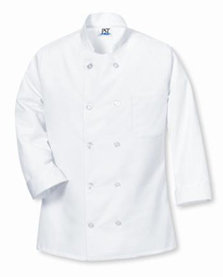 Buy Restaurant Uniform 10 Pearl Button Chef Coat