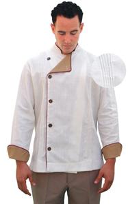 Buy Restaurant Uniform Custom Made Guayavera Chef Coat