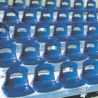 "Buy BleaChair Seating System (For Tread Depth of less than 25"")"