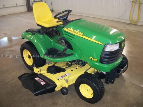 Buy Riding Mower JOHN DEERE X485 AWS 2WD
