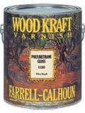 Buy 1120 Wood Kraft Polyurethane Gloss Varnish