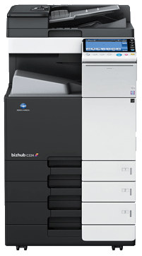 Buy The bizhub C224 is a multifunction printer