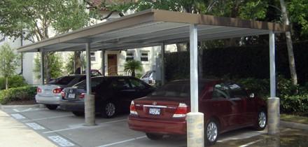 Commercial Carport   Freestanding