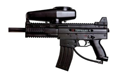 Tippmann X7 Paintball Gun - with Response Trigger - Black