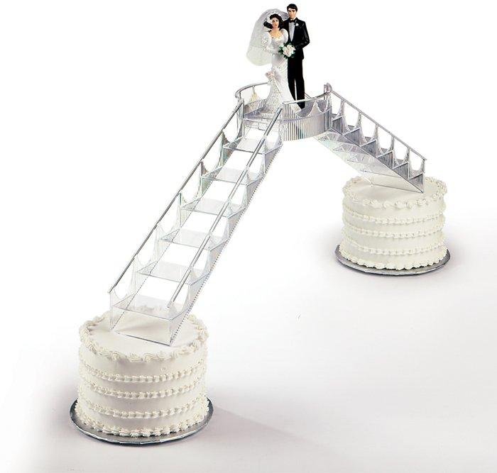 Buy Cake Decoration, Bridge & Graceful Stairway Set