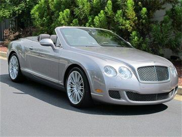 2010 Bentley CONTINENTAL GT 2dr Conv Speed