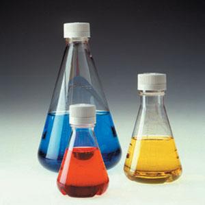 Buy 4112 NALGENE Sterile Disposable Flasks, Plain Bottom