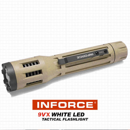 Buy Police Flashlight Inforce 6VX 9VX with Adjustable Intensity