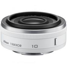 Buy Nikon 1 Nikkor 10 mm f/2.8 Lens (White) for CX Format