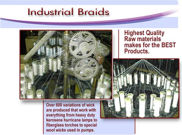 Buy Industrial braids