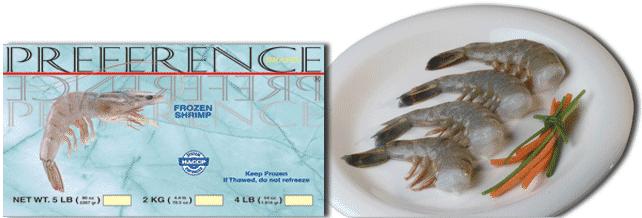 Buy White Shrimp (Panaeus vannamei)