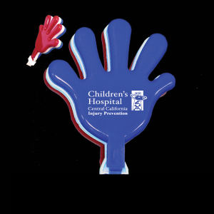 "Buy Red-White-Blue - 7"" high quality hand clapper"