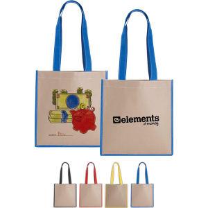 Buy V Natural (TM) - Silkscreen - Kraft magazine tote bag