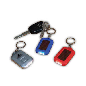Buy Infinity - Solar keychain with three LED's.