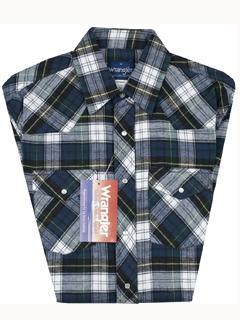 Buy Wrangler Assorted Plaid Flannel Shirts - #75098AA