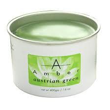 Buy Amber Brand Austrian Green Hard Wax 2 lb Block