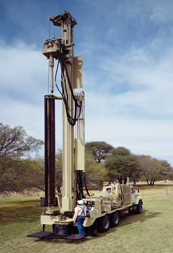 Atlas Copco T2W Water Well Drill