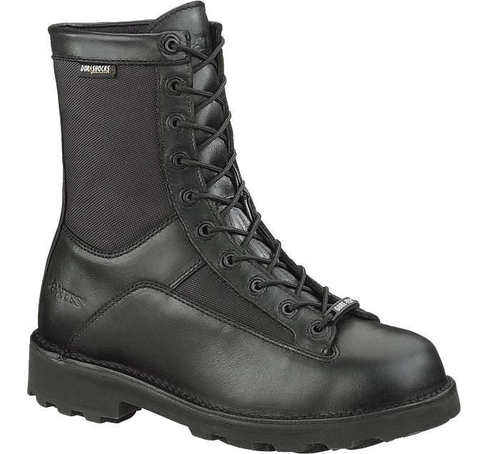 "Buy Bates Men's 8"" DuraShocks Lace-to-toe Side Zip Boot"