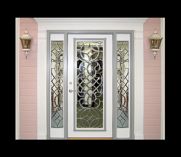 Beveled Glass Entry Doors DbyD-1007 ... & Beveled Glass Entry Doors DbyD-1007 \u2014 Buy Beveled Glass Entry ... Pezcame.Com