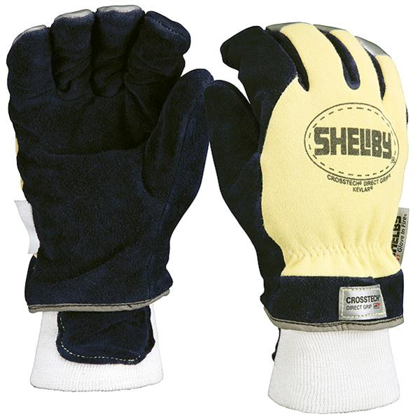 Shelby NFPA Kevlar Yellow and Blue Glove