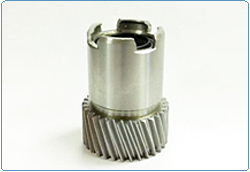 Buy Precision Machining of 1215 Steel Spin Pinion for the Appliance Industry