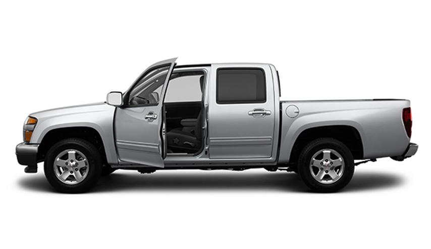 Buy GMC Canyon Crew Cab 4-Wheel Drive SLE-2 2012 Truck