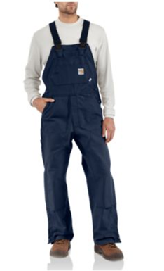 Buy Flame-Resistant Duck Bib Overall/Unlined