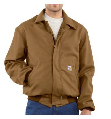Buy Men's Flame-Resistant All-Season Bomber Jacket