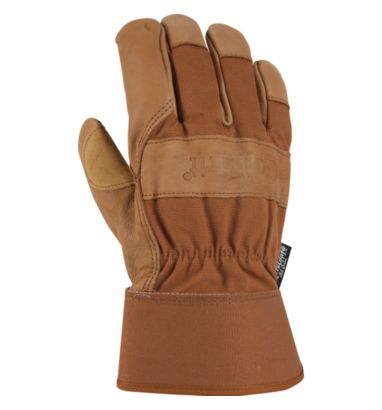 Buy Men's Insulated Grain Leather Work Glove (Safety Cuff)