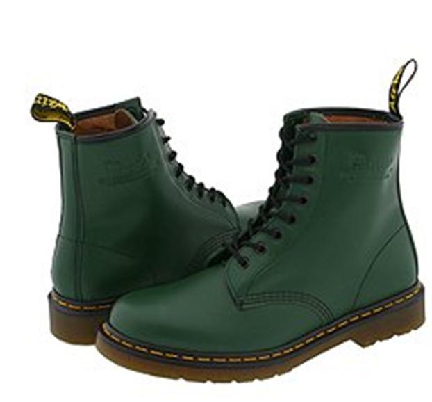 Buy Doc Marten Green 1460 Boots