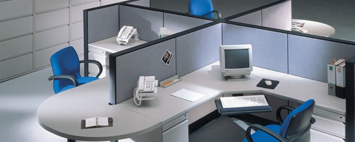 Modular Office Genesis Cubicle Workstations ...
