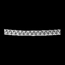 Buy Pave-Set Round Diamond Part-Way Bangle Bracelet