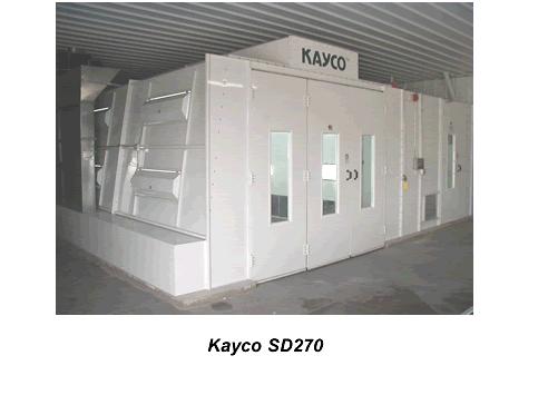 Buy SD 270 Side Draft Spray Booth Series