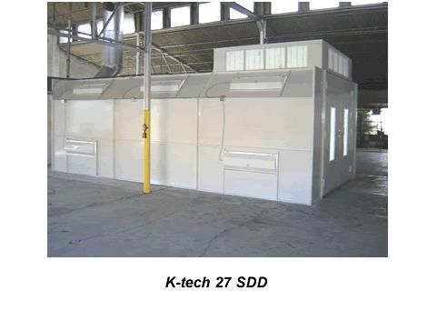 Buy KTech 27 SDD Semi Down Draft Spray Booth